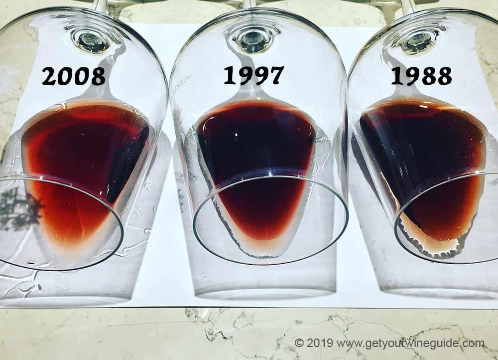 Amarone vintages