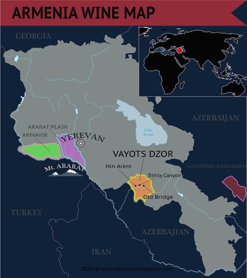 Vayots Dzor Armenia Wine Region