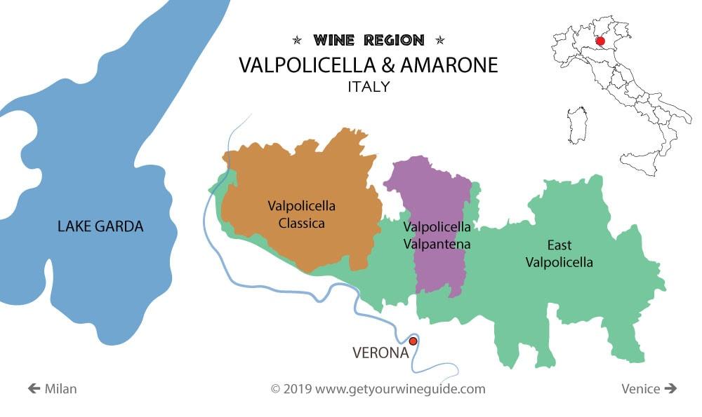 Valpolicella Map
