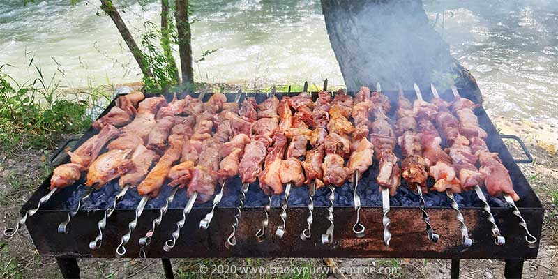 Khorovats Armenian barbecue