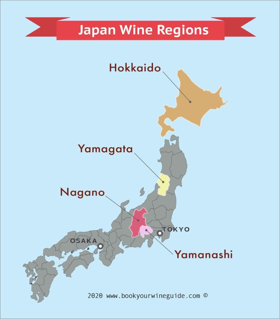 Japan Wine Regions