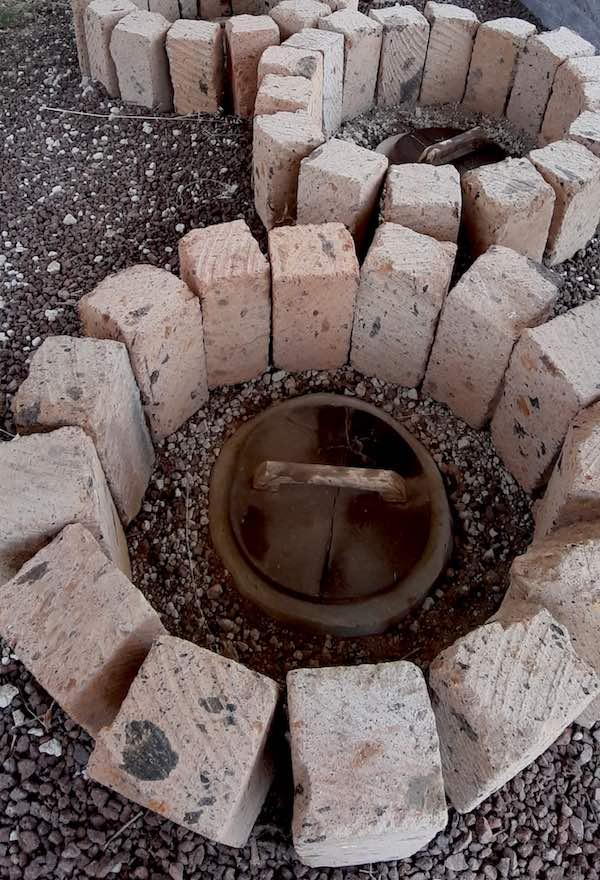 Fermentation amphora vats at Trinity winery in Armenia