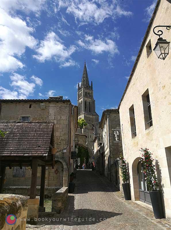 the village of Saint Emilion in Bordeaux